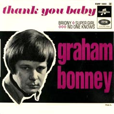 Graham Bonney - No One Knows / Mixed Up Baby Girl