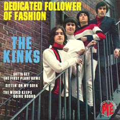 Kinks Discographie 45 Tours