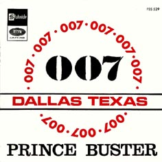 Prince Buster 45 Tours Discography French Pressings 7 Quot