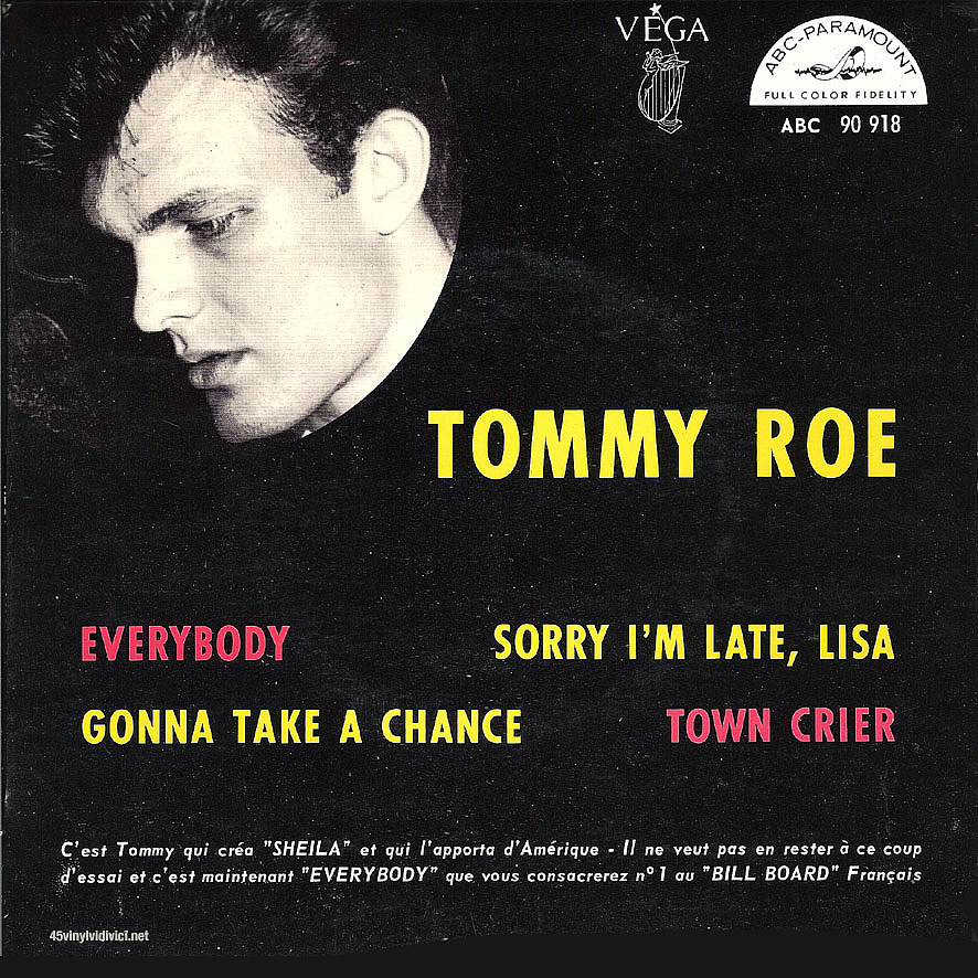 Tommy Roe Gonna Take A Chance Dont Cry Donna