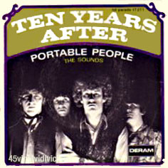Ten Years After 45 Tours Discography French Pressings 7 Quot