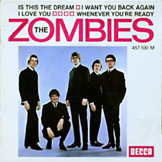 Zombies 45 Tours Discography French Pressings 7 Quot